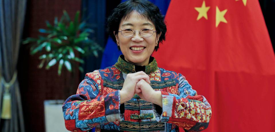 中國駐歐盟使團團長楊燕怡大使通過新華網向祖國各族人民拜年
