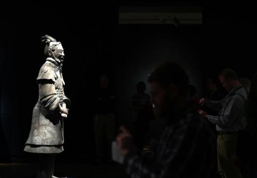 美國藝術博物館舉辦兵馬俑特展