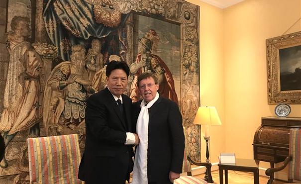比利時聯邦眾議長表示相信中國的未來一定會更美好