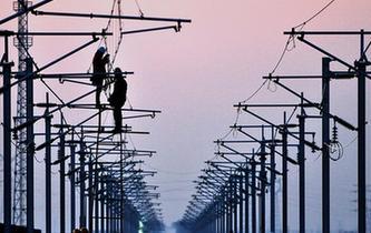 濟青高鐵電氣化施工進入關鍵階段
