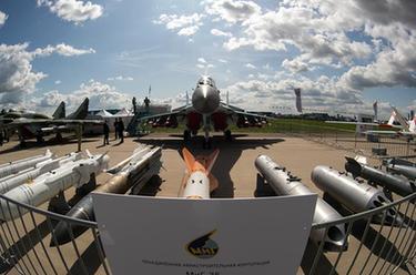 第14屆莫斯科航展開幕
