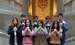 西班牙巴塞羅那大學中國留學生