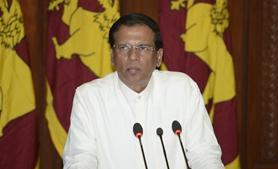 斯裏蘭卡總統西裏塞納