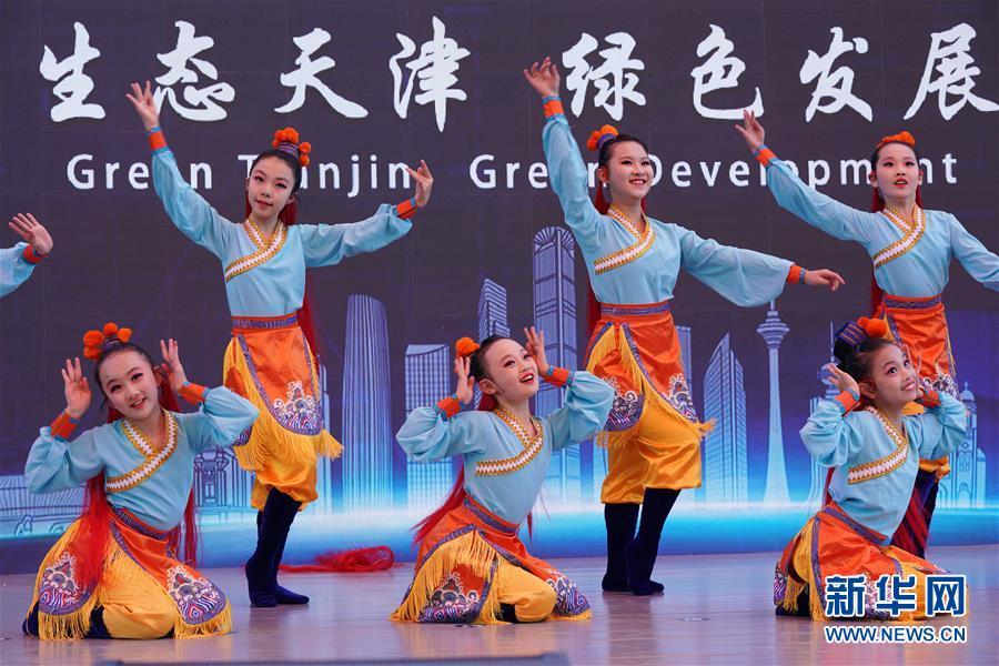 """(北京世园会)(6)北京世园会迎来""""天津日"""""""