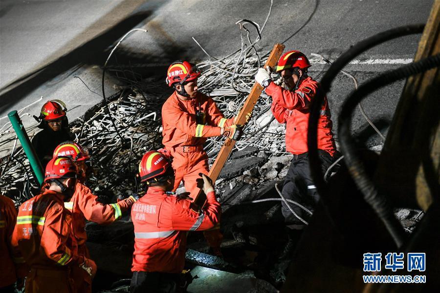 (突发事件后续)(1)无锡高架桥侧翻事故致3人死亡