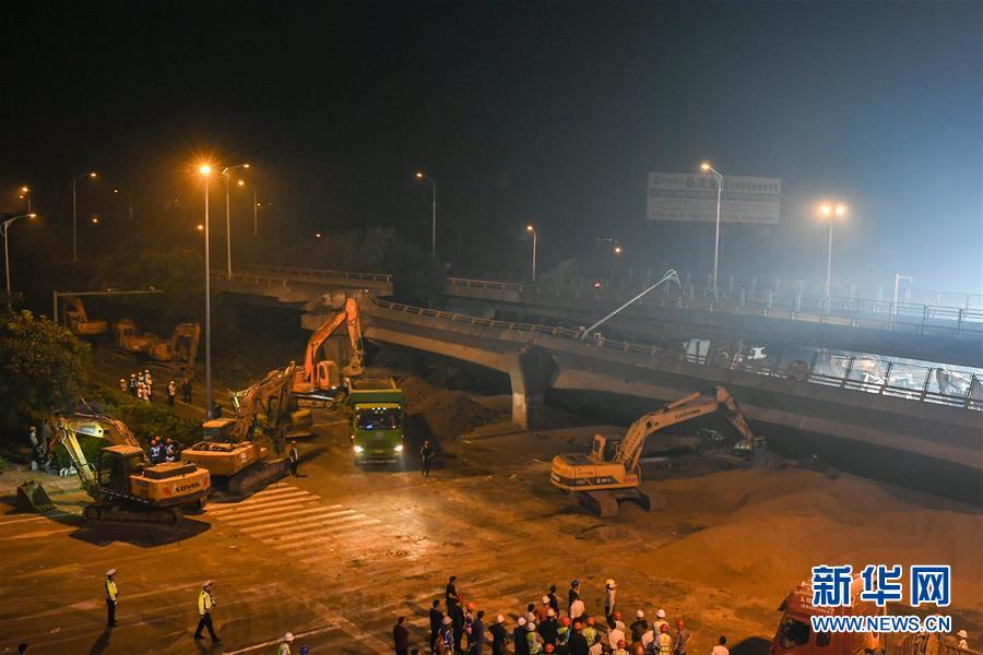 (突发事件后续)(4)无锡高架桥侧翻事故致3人死亡