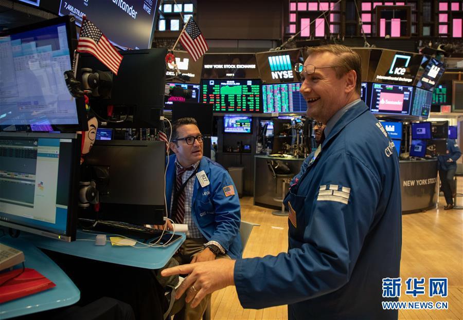 (国际)(2)纽约股市三大股指11日显著上涨