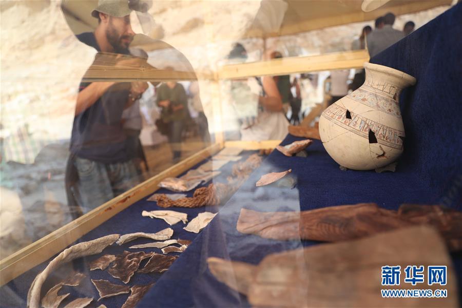 (国际·图文互动)(1)埃及卢克索首次发现古代工业区遗迹