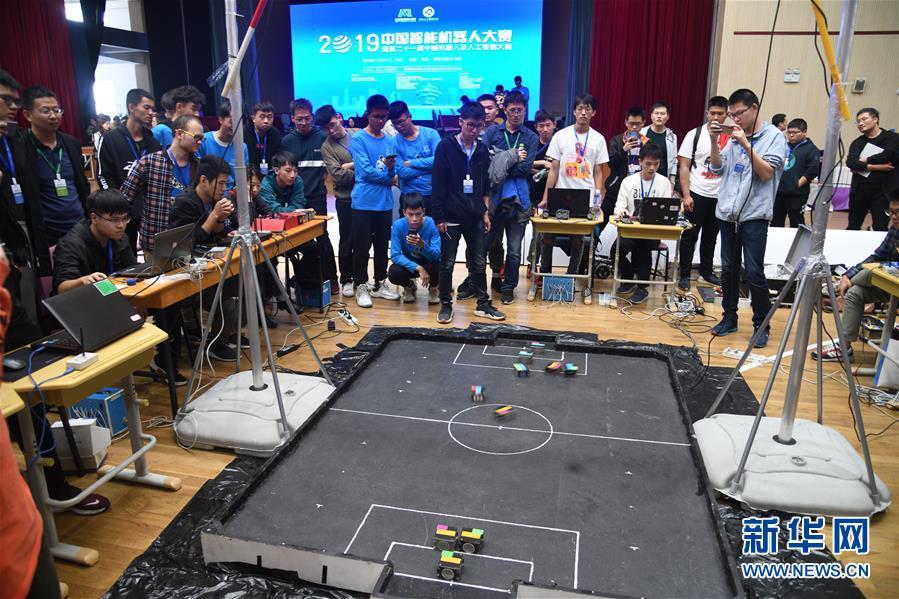 (科技)(2)2019中国智能机器人大赛在青岛举行