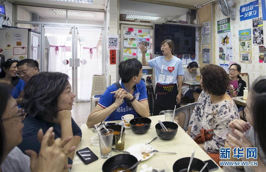 (圖片故事)(1)身後有14億人的茶餐廳