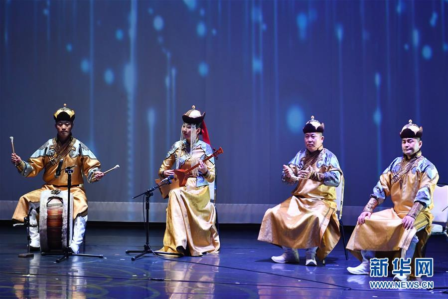 (文化)(1)内蒙古非物质文化遗产展演活动在台湾举行