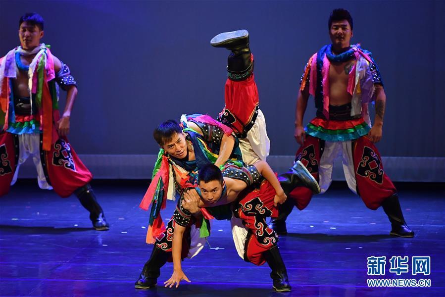 (文化)(2)内蒙古非物质文化遗产展演活动在台湾举行