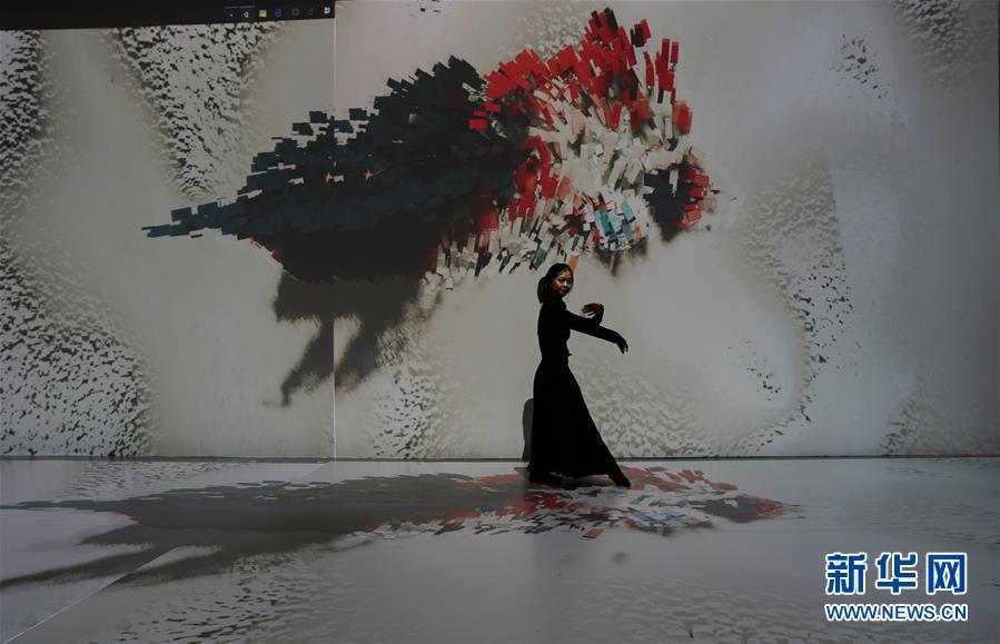 (文化)(3)第五届艺术与科学国际作品展在京举行