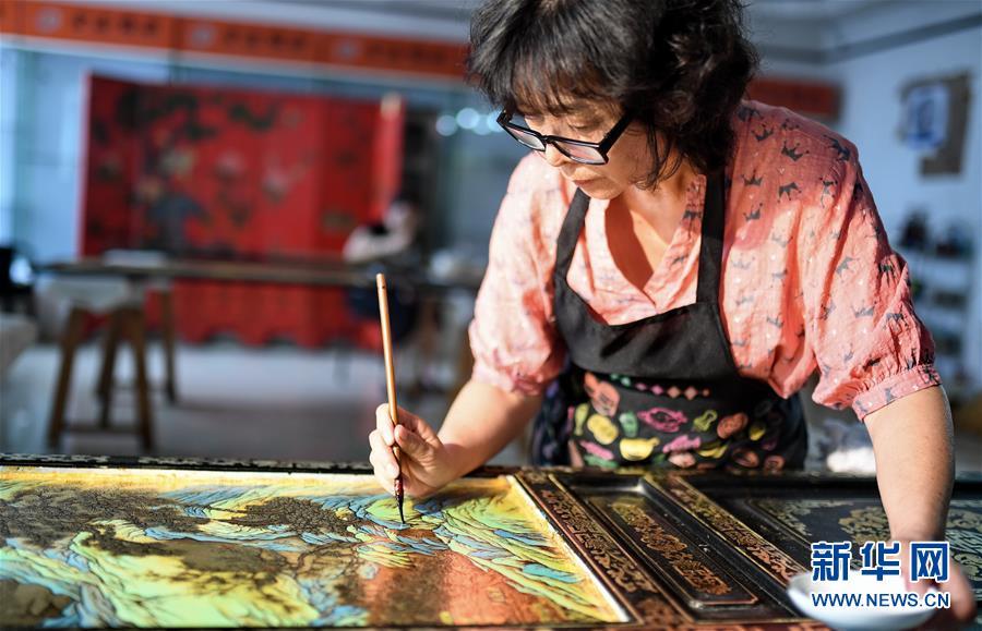 (文化)(6)金漆鑲嵌—古老的手工藝重現生機
