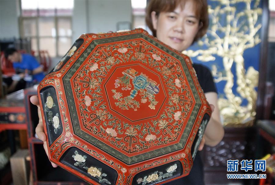 (文化)(12)金漆鑲嵌—古老的手工藝重現生機