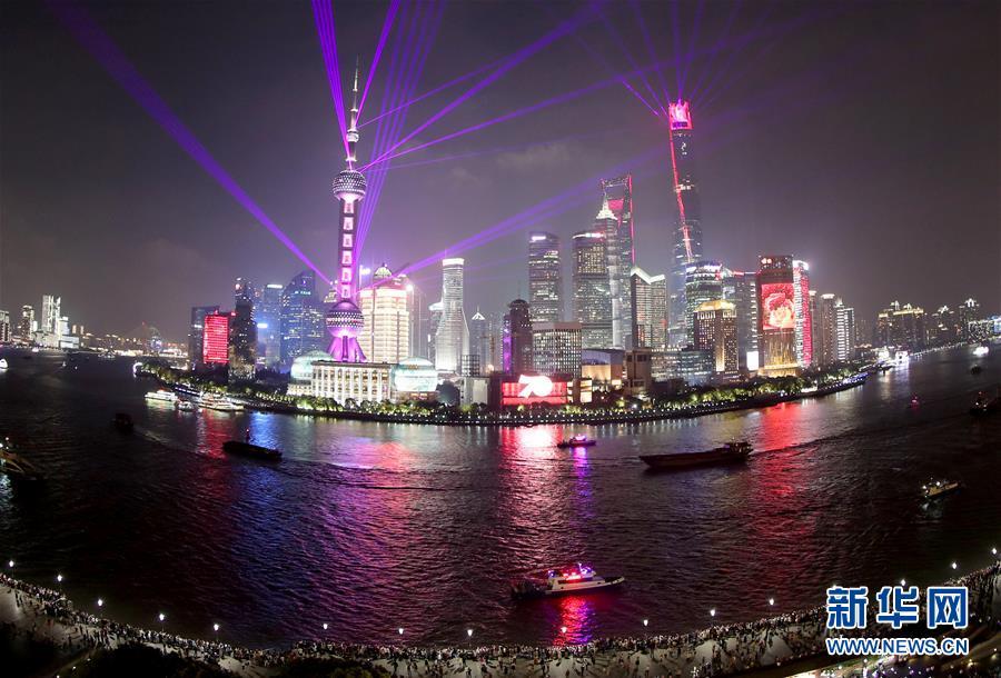 """(社会)(1)上海:""""夜经济""""成为提升城市活力新引擎"""