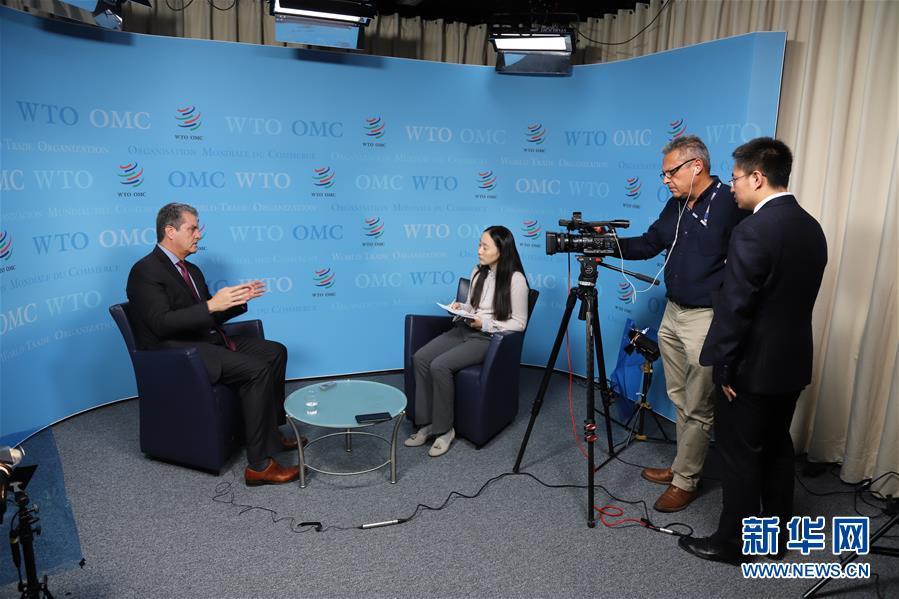 (第二届进博会·图文互动)(1)专访:进博会是中国推动经济全球化的持续承诺——访世贸组织总干事阿泽维多