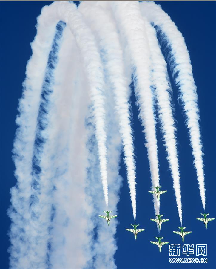 (國際)(4)科威特舉辦第二屆航空展