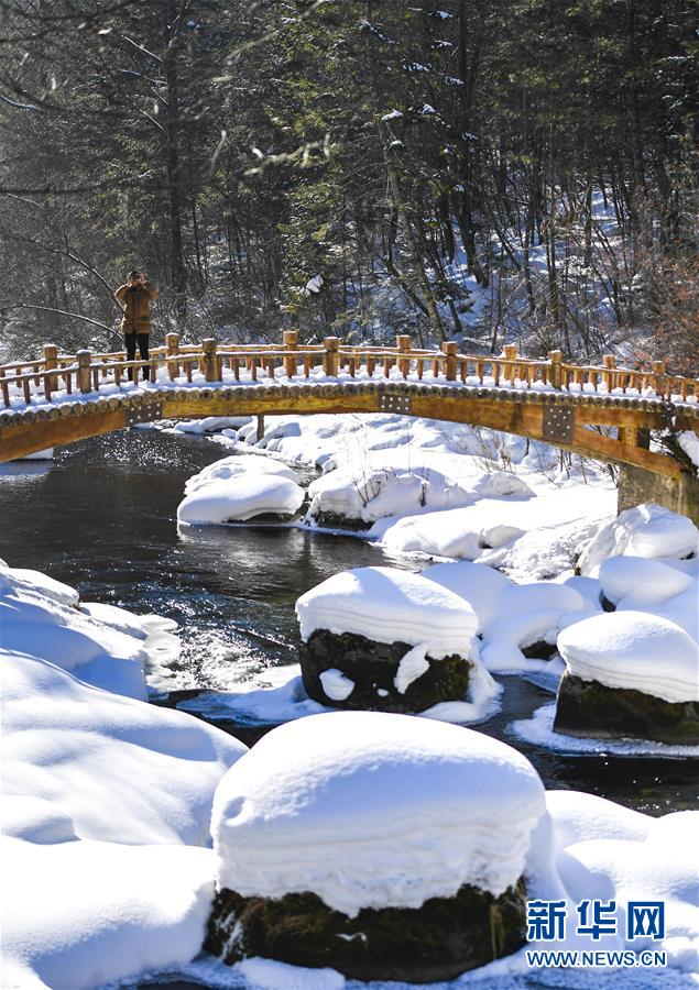 (美麗中國)(3)長白山區冬日美