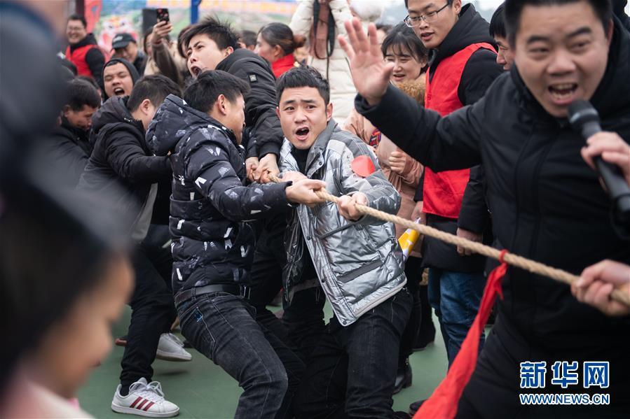 (新春走基層)(3)湖南辰溪:農民趣味運動會迎新年