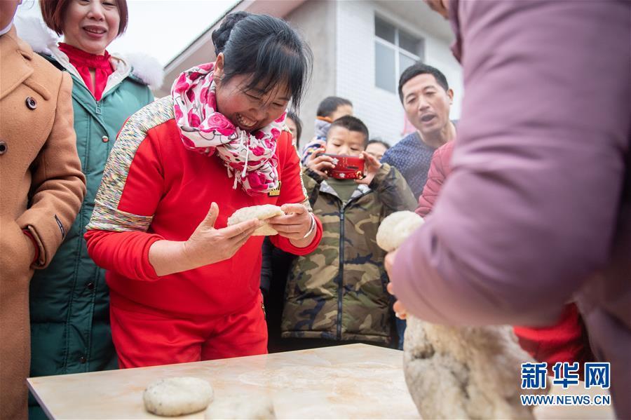 (新春走基層)(5)湖南辰溪:農民趣味運動會迎新年