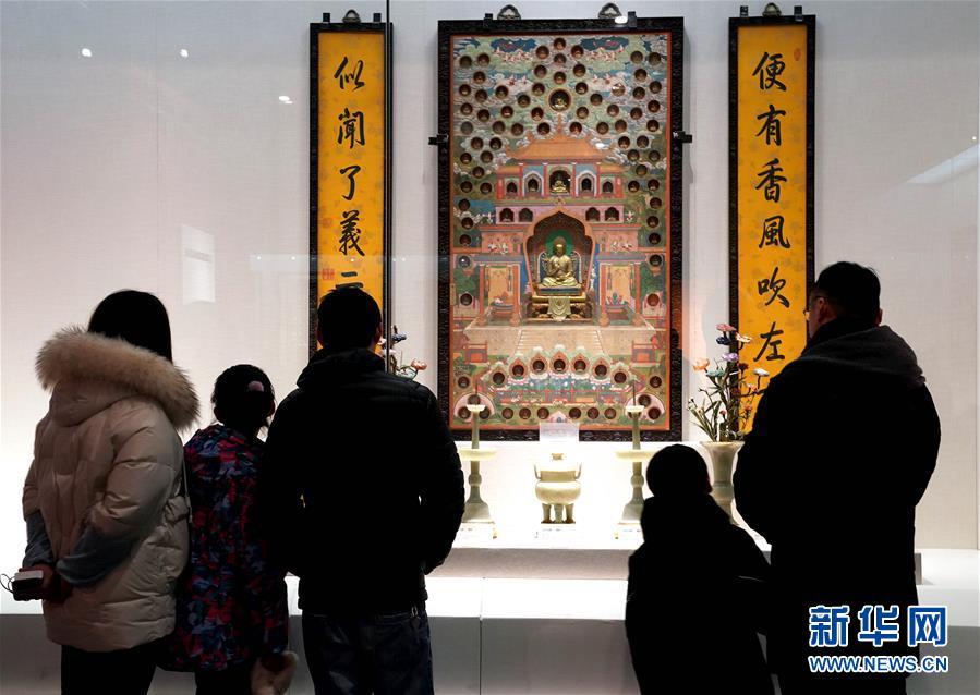 """(文化)(1)""""清高宗乾隆皇帝展""""亮相鄭州"""