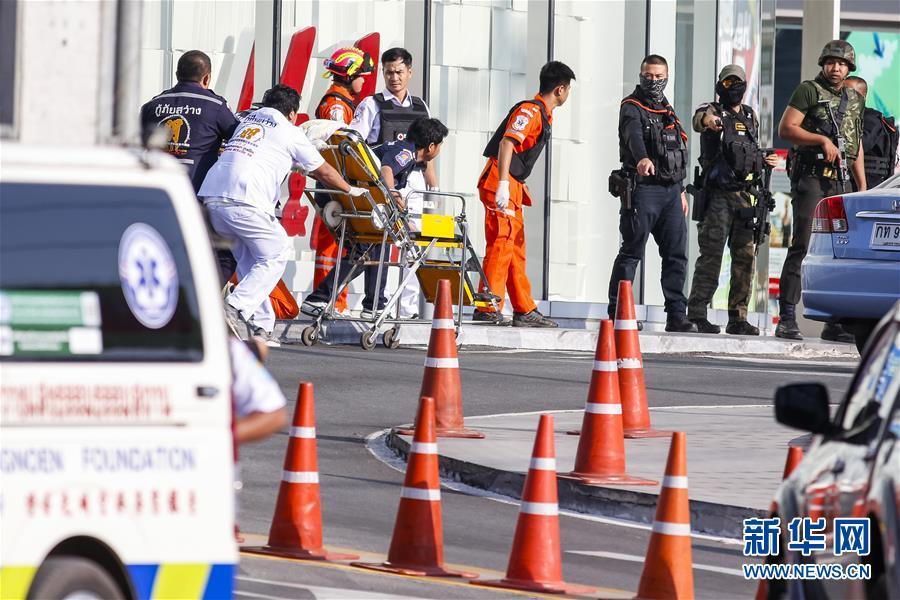 (国际)(1)泰国呵叻府枪击事件凶手被击毙