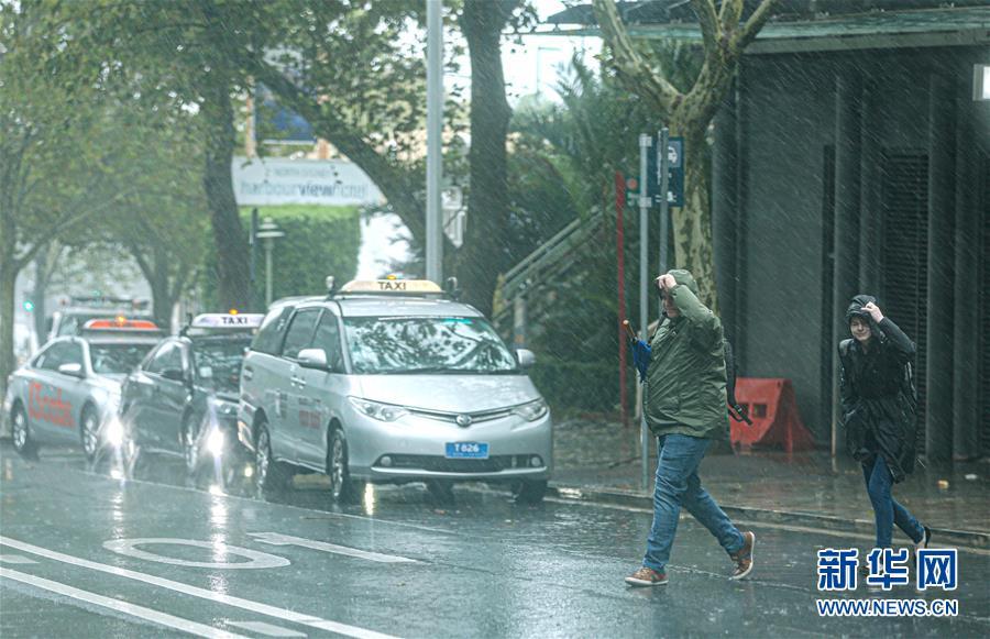 (国际)(4)澳大利亚东南部沿海地区面临洪水预警