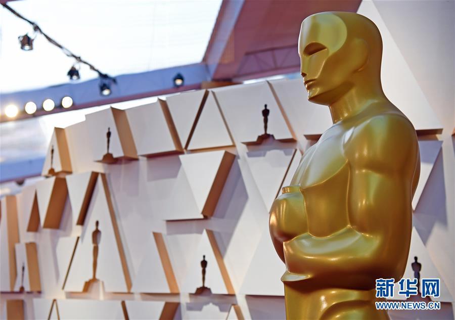 (國際)(1)第92屆奧斯卡頒獎典禮準備工作進行(xing)時