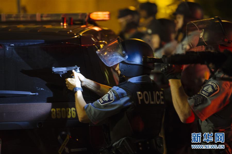 (國際)(3)美國明尼阿波利斯的抗議示威活動持續