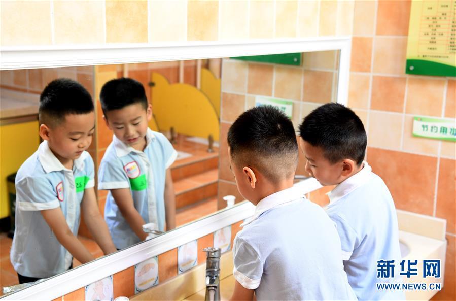 (教育)(1)河南鄭州:幼兒園陸續開學