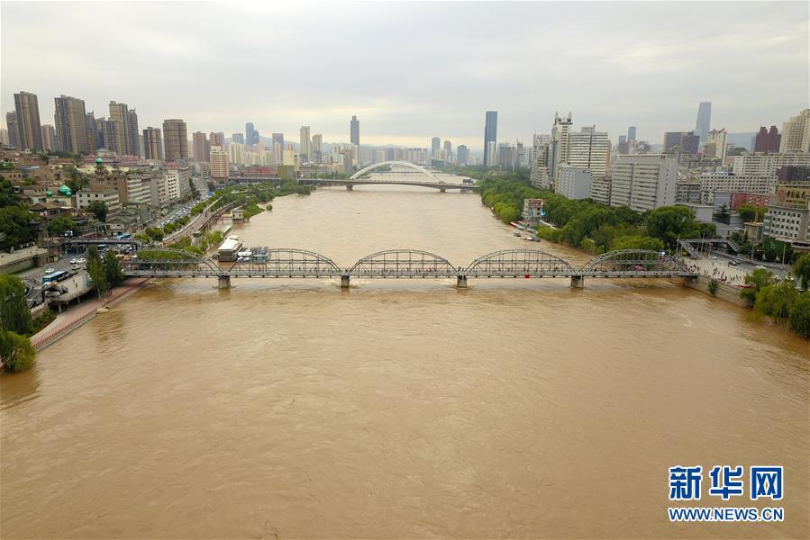 (防汛抗洪)(4)黄河出现2020年第2号洪水