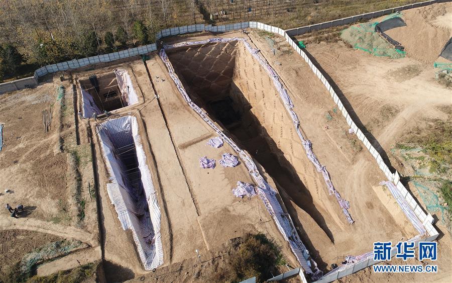 (图文互动)(1)西安东郊西汉早期墓葬群发掘古墓葬27座