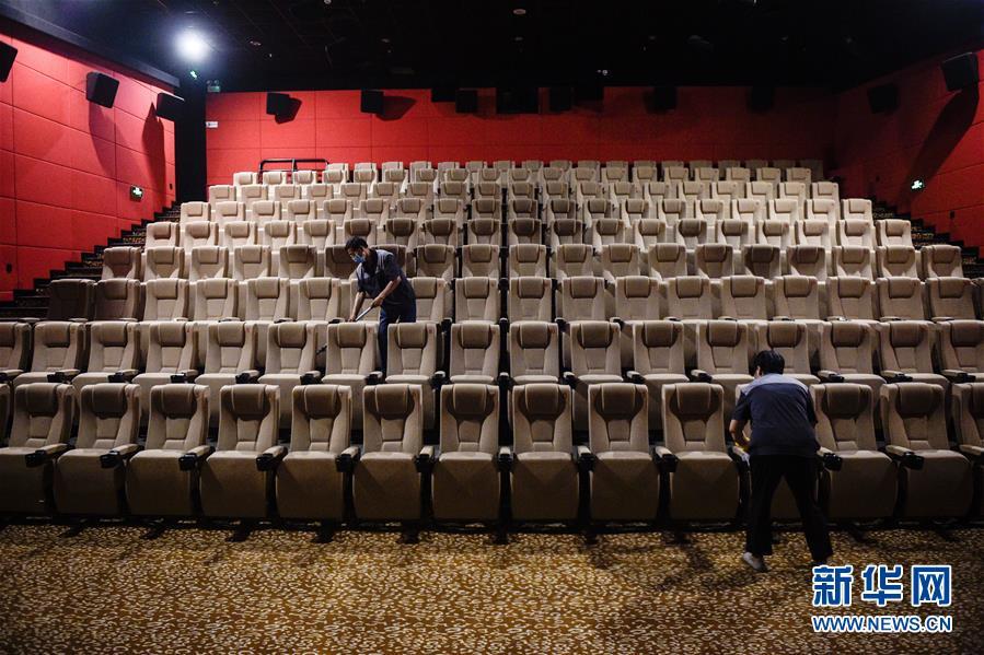 (社會)(1)探訪北京電影院復工前消殺清潔工作