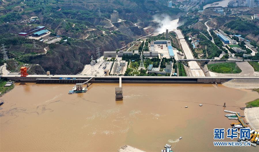 (防汛抗洪)(2)黄河上游多个水库加大下泄流量确保安全度汛