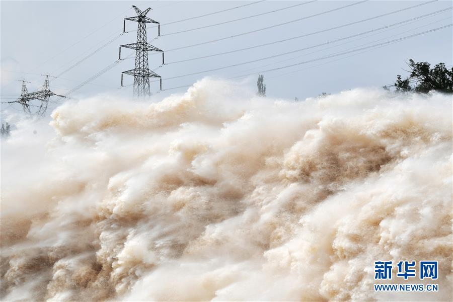 (防汛抗洪)(4)黄河上游多个水库加大下泄流量确保安全度汛
