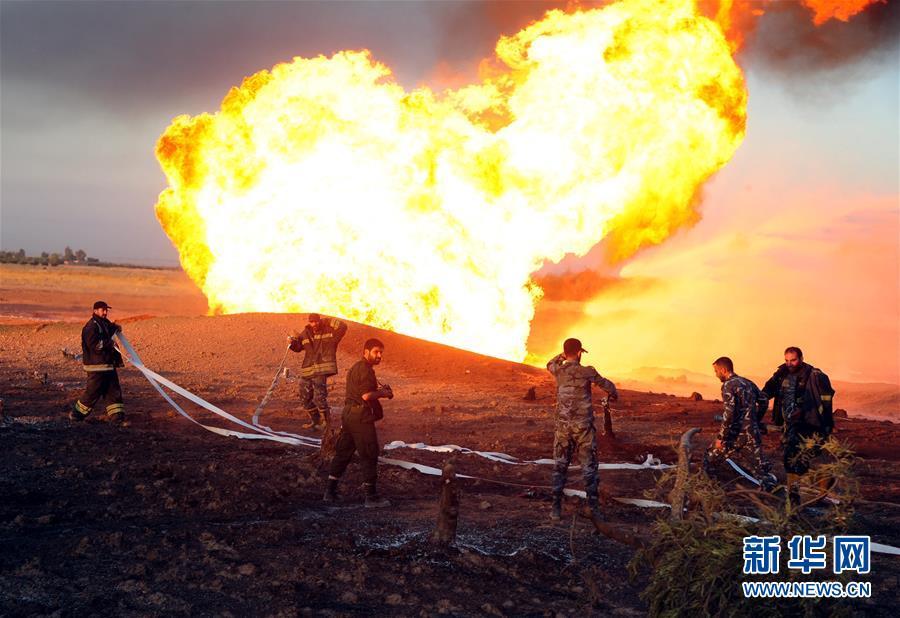 (国际)(1)叙利亚一天然气管道爆炸致全国大范围停电