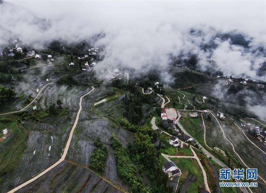 (美丽中国)(1)重庆开州:山村新貌