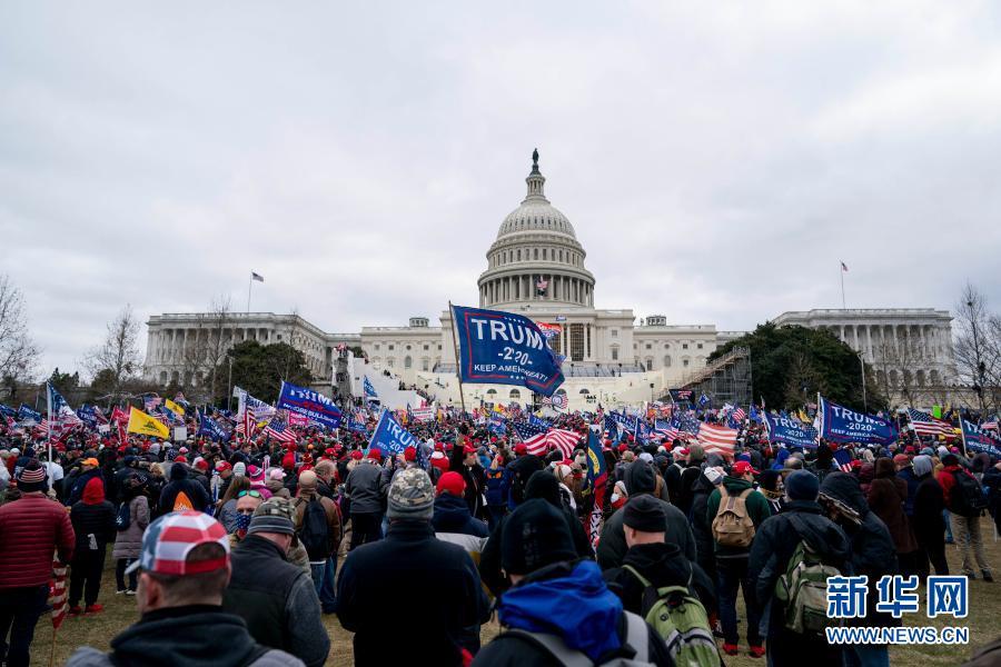 1人死亡!美国国会遭暴力冲击 认证大选结果联席会议被迫中断