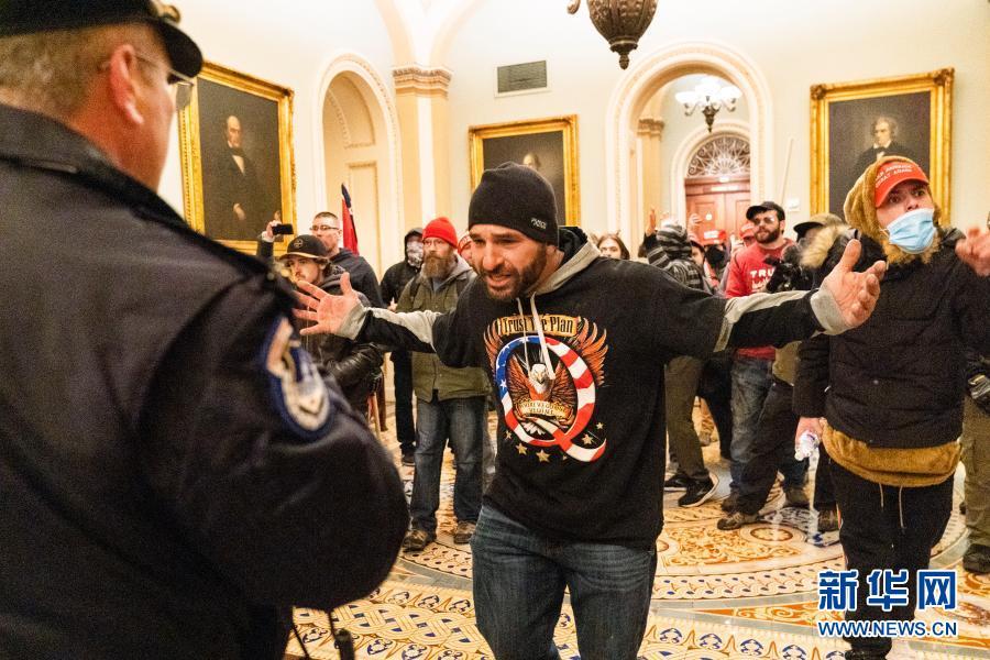 美国示威者暴力冲击国会大厦已造成4人死亡