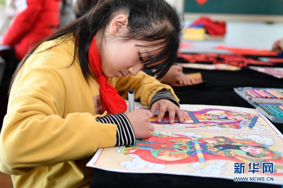 浙江湖州:校园民俗活动迎新春