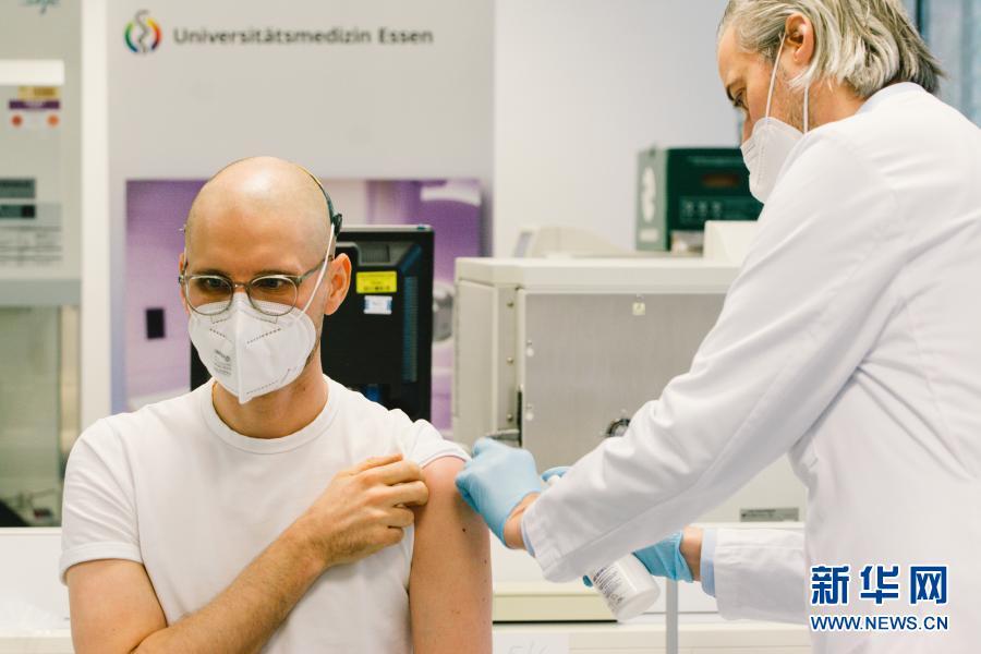 数据显示:德国已完成超过100万剂新冠疫苗接种