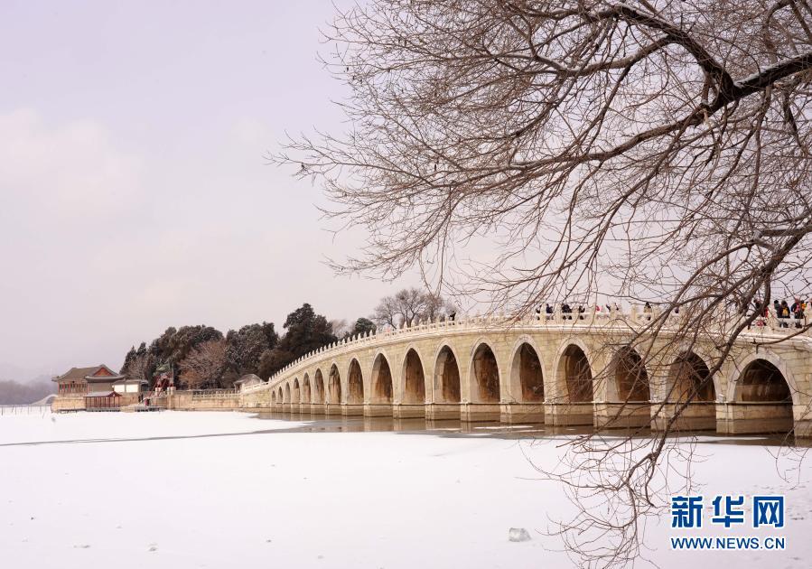 北京迎来降雪天气