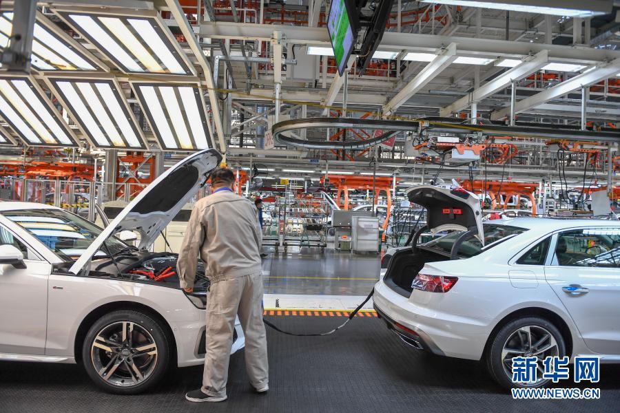 一汽-大众1月销售超24万辆 同比增长近三成
