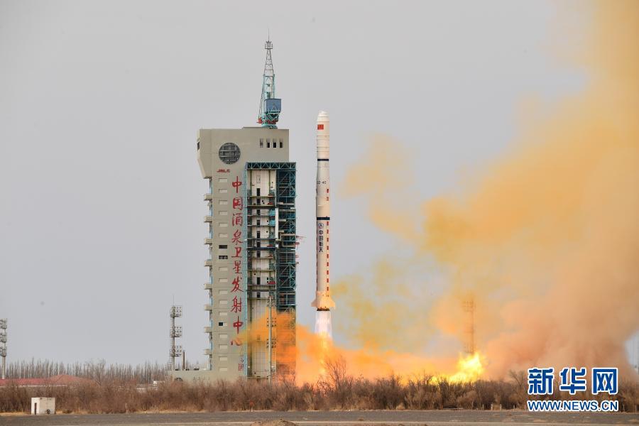 我国在酒泉成功发射遥感三十一号03组卫星