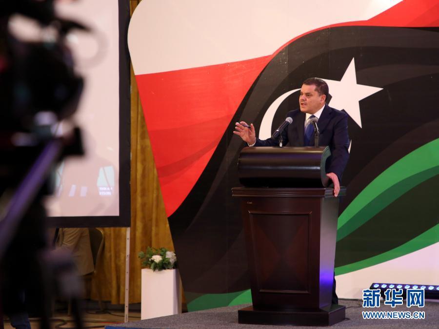 利比亚过渡政府总理向国民代表大会提交新政府组成框架