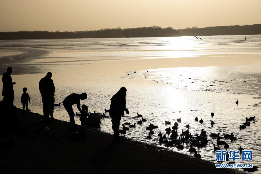 德国柏林:湖畔暖阳