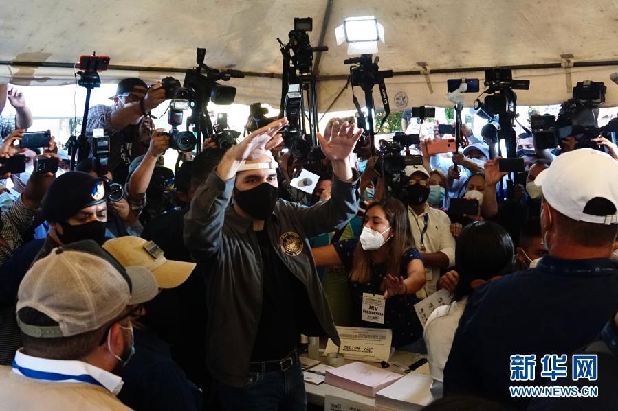 萨尔瓦多举行全国议会和市政选举