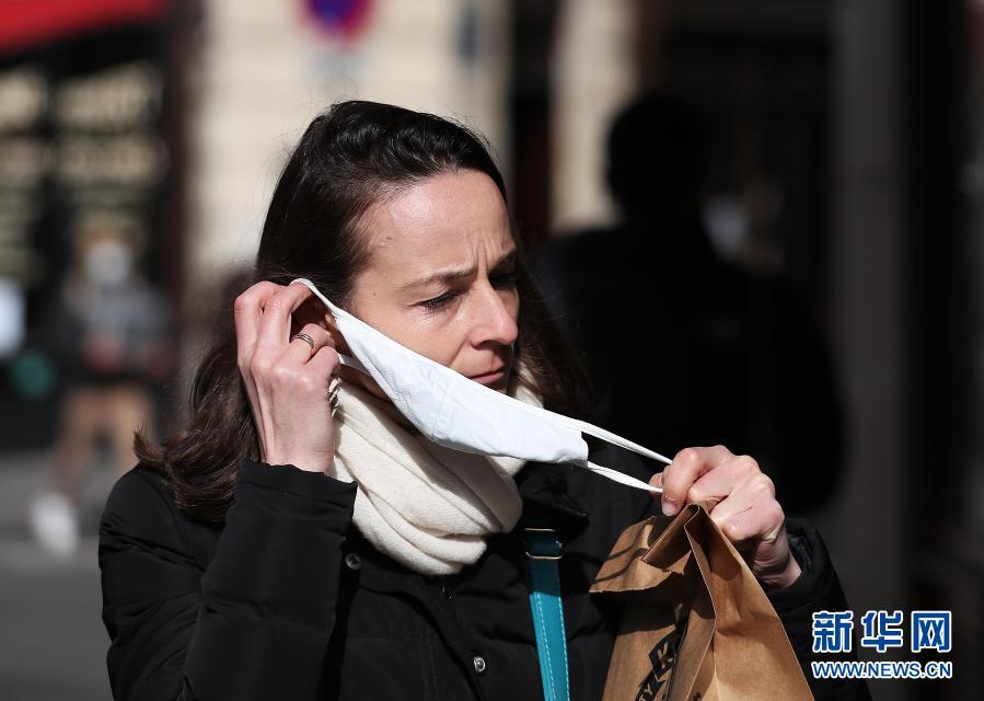 法国日增确诊病例26788例 创一周新高