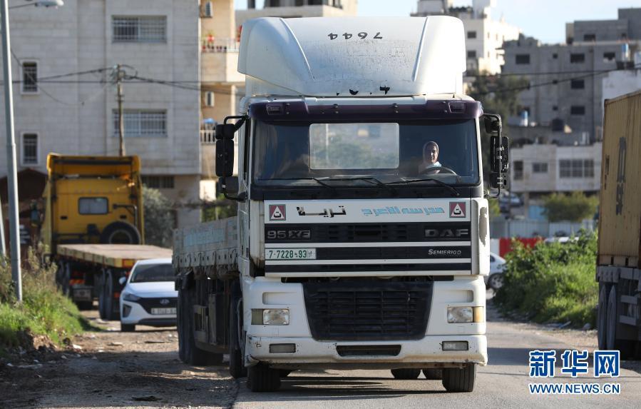 三八妇女节|巴勒斯坦的首位拖挂货车女司机